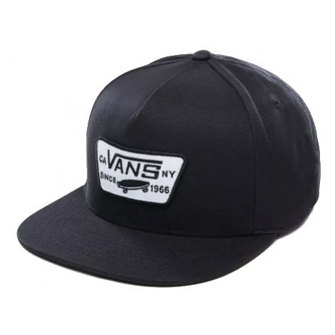 Kšiltovka Vans Full Patch Snapback true black