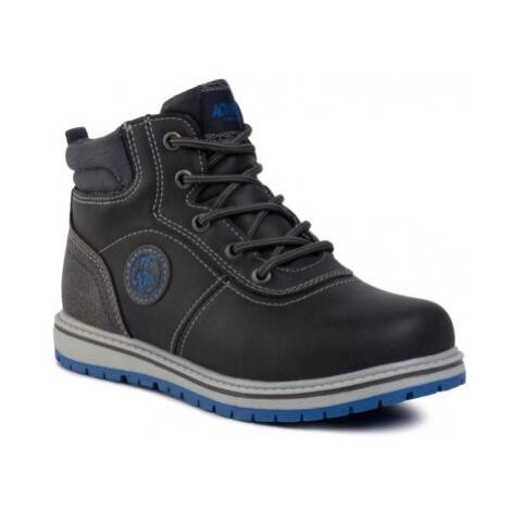 Šněrovací obuv Action Boy CP07-7010-08 Ekologická kůže /-Ekologická kůže
