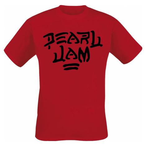 Pearl Jam Maxx Tričko červená