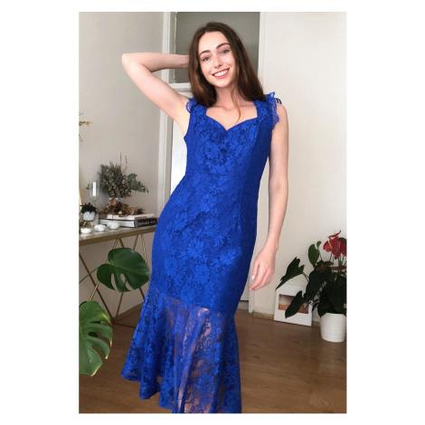 Dámské šaty Trendyol Lace detailed