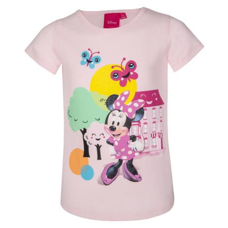 Dívčí tričko - Minnie Mouse 210, růžová