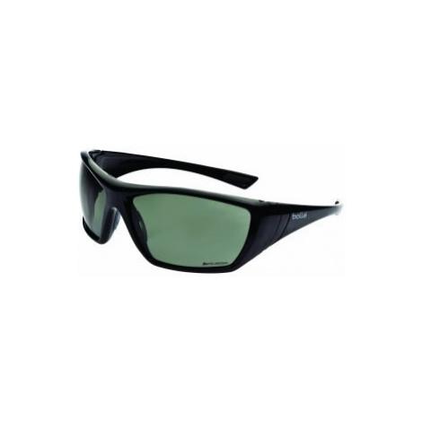 Ochranné brýle BOLLÉ® HUSTLER - černé, polarizační šedé