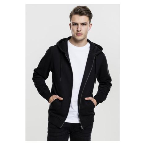 Basic Zip Hoody - black Urban Classics