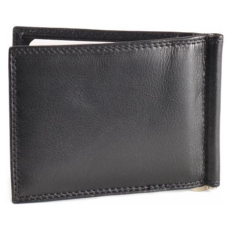 Pánská kožená peněženka dolarka černá, 12 x 22 x 9 (SB00-DD815-09KUZ)