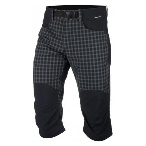 NORTHFINDER RUDHJI Pánské outdoorové šortky BE-3277OR270 černá