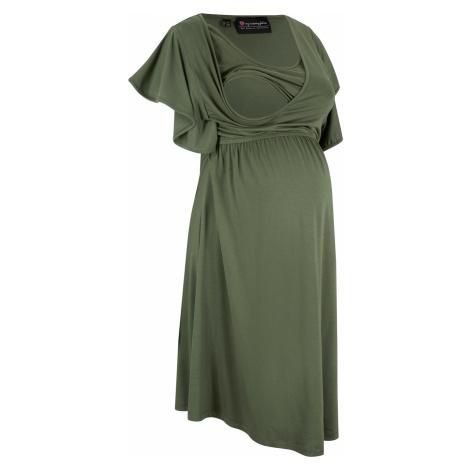 Těhotenské a kojicí šaty z LENZING™ ECOVERO™ Bonprix