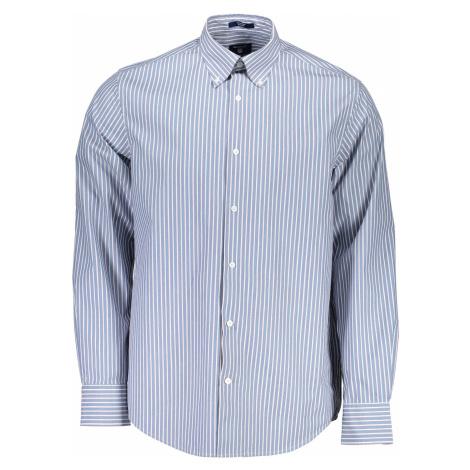 GANT košile s dlouhým rukávem Barva: Modrá