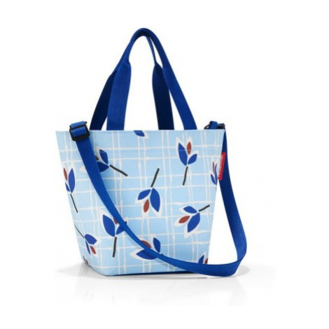 Taška a kabelka Reisenthel Shopper XS Leaves blue