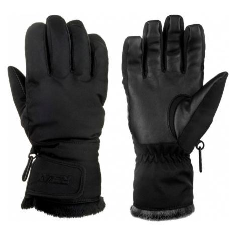RELAX ICEPEAK Dámské lyžařské rukavice RR19A černá