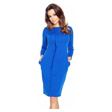 Modré šaty Zita Bergamo