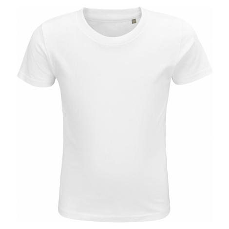 SOĽS Dětské triko CRUSADER KIDS 03580102 Bílá SOL'S