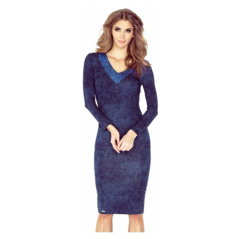 Dámské šaty Morimia 020-1 | džínová