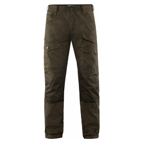 Kalhoty Fjällräven Vidda Pro Ventilated Trousers - Dark Olive LONG