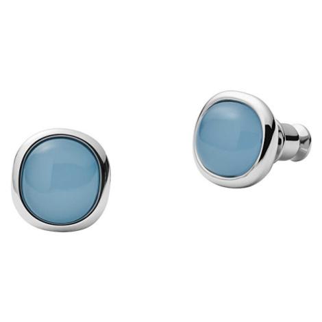 Skagen Elegantní ocelové náušnice pecky Sea Glass SKJ1458040