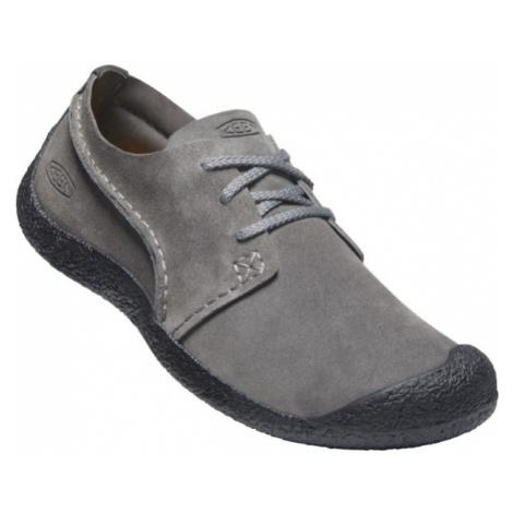 KEEN HOWSER SUEDE OXFORD MEN Pánská letní obuv 10011644KEN01 steel grey/black