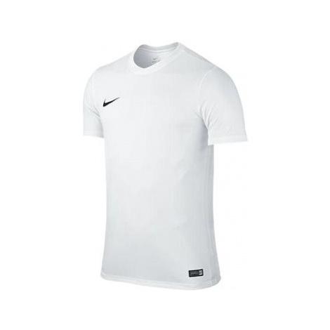 Nike Park VI s krátkým rukávem WHITE