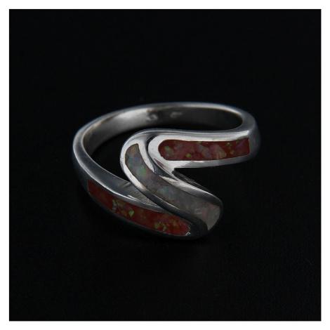 Stříbrný prsten 14308