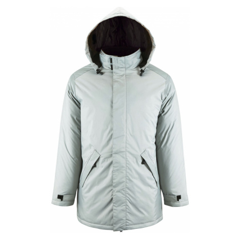 SOĽS Pánský kabát ROBYN 02109351 Metal grey SOL'S