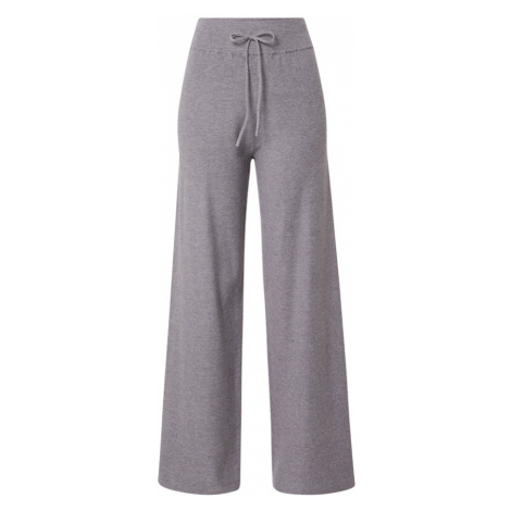Guido Maria Kretschmer Collection Kalhoty 'Claire' šedý melír / šedá