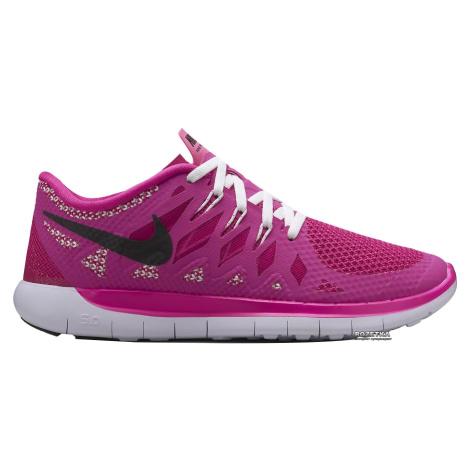 Dětské boty Nike Free 5.0 Růžová / Černá