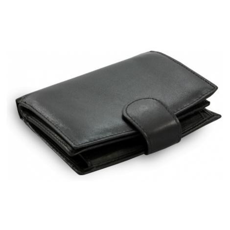 Černá dámská kožená peněženka Evangeline Arwel