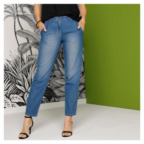 Blancheporte Pohodlné džíny, stone, eco-friendly modrá