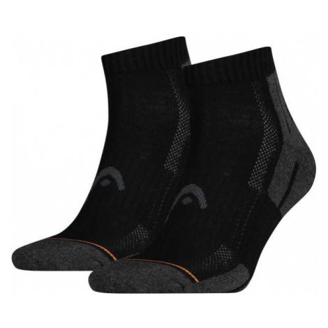 Head PERFORMANCE QUARTER 2PACK černá - Sportovní ponožky