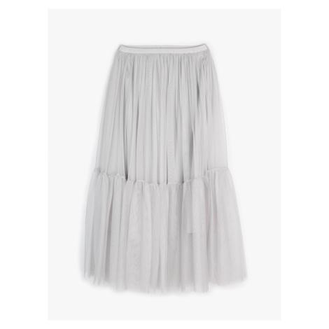 GATE Tylová sukně midi