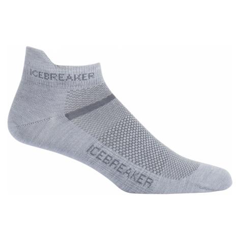 Pánské ponožky ICEBREAKER Mens Multisport Ultralight Micro, Fossil/Monsoon Icebreaker Merino