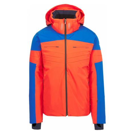 Lyžařská bunda Descente TATRAS modrá oranžová