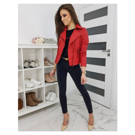 Women's Bomber jacket FILINA red TY1225 DStreet