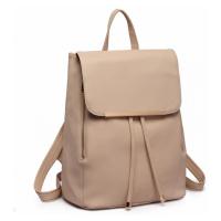 Béžový stylový dámský modní batoh Frell Lulu Bags