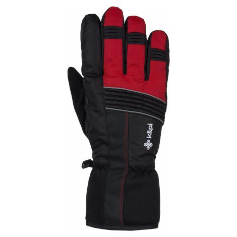Zimní lyžařské rukavice KILPI GRANT-U červená