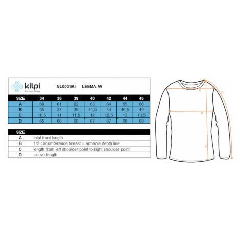 Dámské funkční tričko Kilpi LEEMA-W