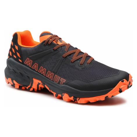 Trekingová obuv MAMMUT - Sertig II Low 3030-04300-00533 Black/Vibrant Orange