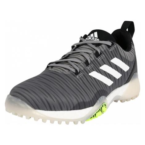 Adidas Golf Sportovní boty 'CODECHAOS' černá / bílá / šedý melír