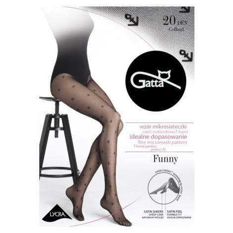 Dámské punčochové kalhoty FUNNY -11, LYCRA černá Gatta