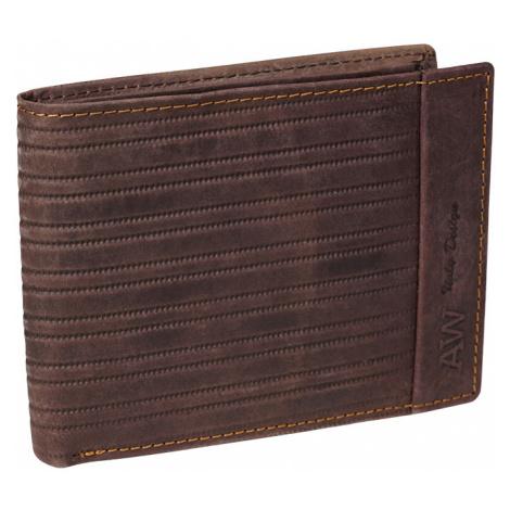 Kožená pánská peněženka Always Wild N992-BUP-1 hnědá