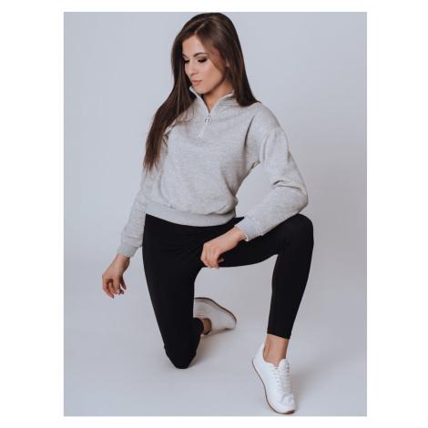 MONNE women's sweatshirt light gray BY0792 DStreet