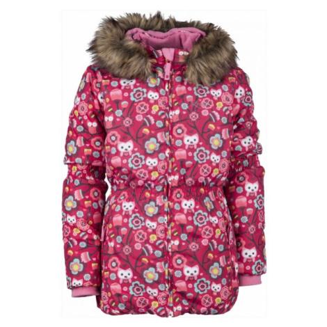Lewro LAWANDA 140-170 červená - Dívčí zimní bunda