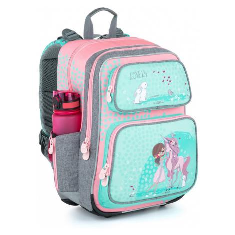 Bagmaster školní batoh pro prvňáčky růžový GEN 21 A