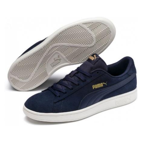 Puma SMASH V2 modrá - Pánské vycházkové boty