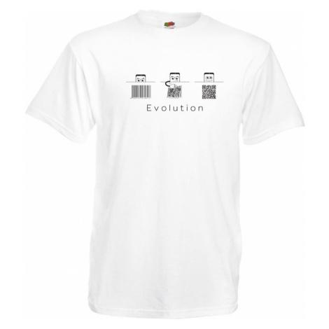 Geek tričko - QR evolution