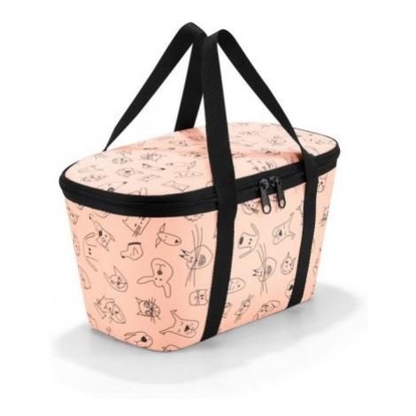 Dětská chladící taška Reisenthel Coolerbag XS kids Cats and dogs rose