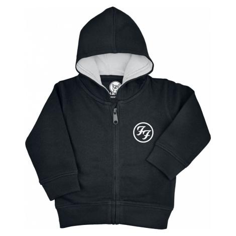 Foo Fighters Van detská mikina s kapucí na zip černá