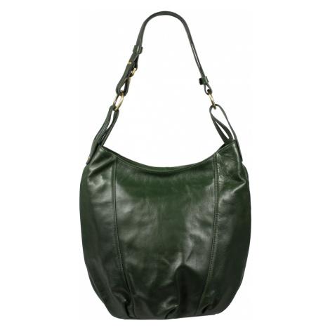 Zelená kožená kabelka Lagia Verde Scura