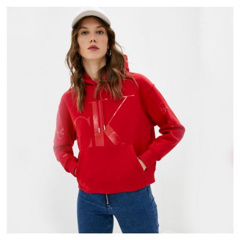 Calvin Klein dámská červená mikina