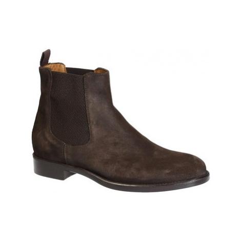 Leonardo Shoes 2005_4 CAMOSCIO T.MORO Hnědá