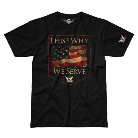 Pánské tričko 7.62 Design® US Navy This Is Why We Serve - černé