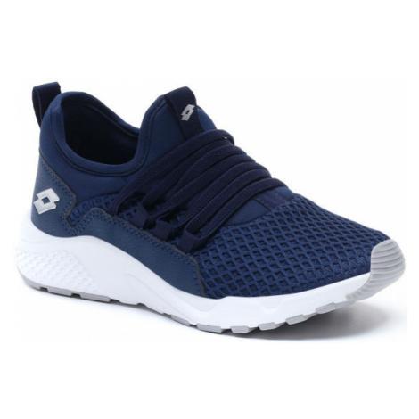 Lotto BREEZE RISE CL modrá - Juniorská volnočasová obuv